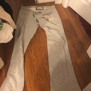 2-20 sweatpants w abercrombie on butt